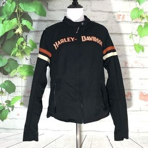 Harley Davidson Nylon Canvas Riding Jacket